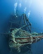 alexandria wreck in cyprus for scuba divers