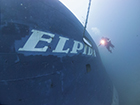 A new wreck to dive in Cyprus. The Elpida Wreck