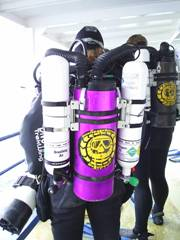 Megalodon rebreather training available in cyprus