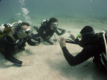 PADI open water diving in Cyprus. learn to scuba dive today