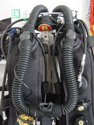 megalodon rebreather training courses in cyprus from scubatech diving centre