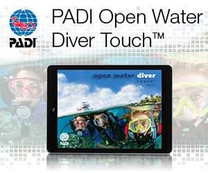 PADI online touch codes for Opwn Water