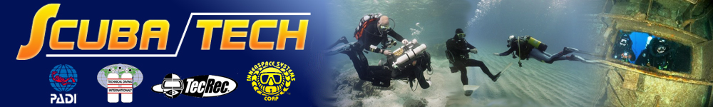 Scuba Tech divers in Cyprus. Diver training, recreational courses, rebreather courses