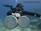 PADI Sidemount training in Protaras, Cyprus