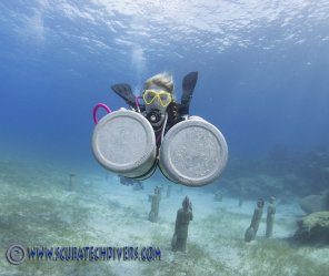 Divemaster Lucy at Scuba Tech Diving Cyprus