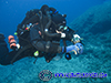 rebreather diver in Cyprus