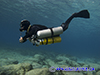 technical sidemount diving using the razor harness in Cyprus